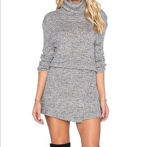 Free People By the Fire Knit Mini Dress